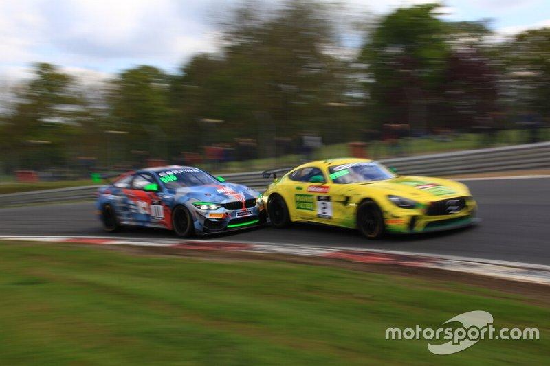 GT4 European Series yarış mücadelesi