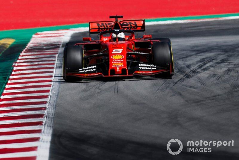 El bonito mensaje de Vettel tras la carrera