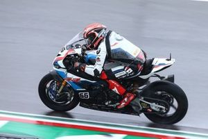 Tom Sykes, BMW Motorrad WorldSBK Team on wet assessment laps