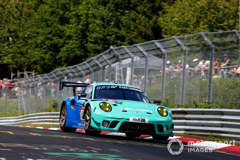 #44 Falken Motorsport Porsche 911 GT3 R: Jörg Bergmeister, Martin Ragginger, Dirk Werner, Klaus Bachler