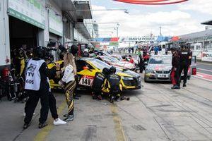 #148 Giti Tire Motorsport by RaceIng Audi R8 LMS BE: Bernhard Henzel, Frank Schmickler, Pavel Lefterov, Rahel Frey
