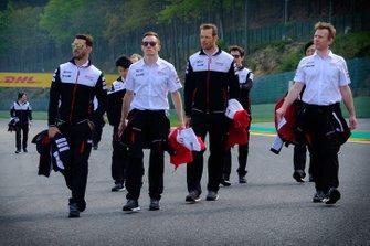 Ознакомление с трассой: команда Toyota Gazoo Racing