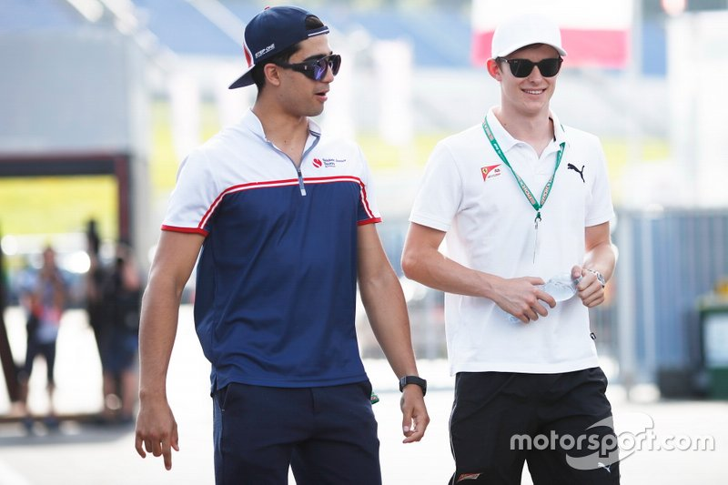 Juan Manuel Correa, Sauber Junior Team by Charouz, Callum Ilott, Sauber Junior Team by Charouz