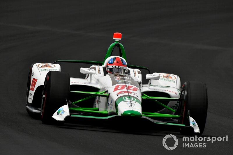 5º: #88 Colton Herta, Harding Steinbrenner Racing, Harding Steinbrenner Racing Honda: 229.106 mph