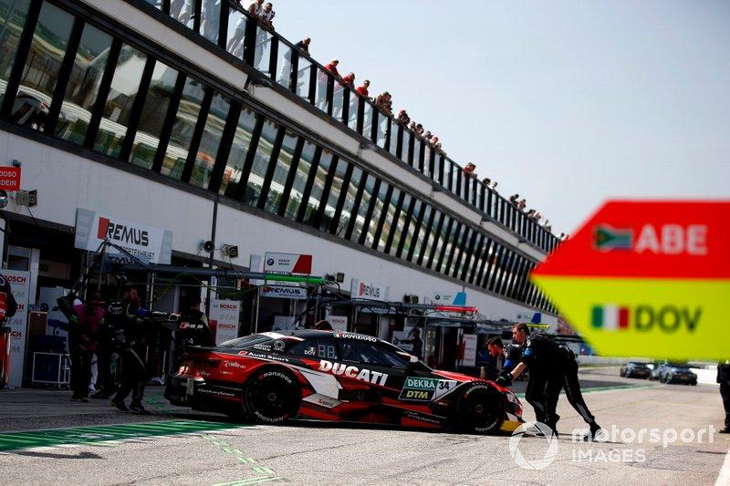 Andrea Dovizioso, Audi Sport Team WRT, Audi RS 5 DTM