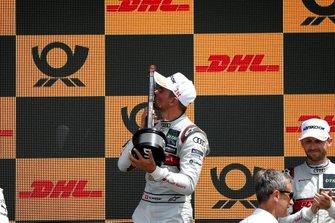 Podium: winnaar Nico Müller, Audi Sport Team Abt Sportsline