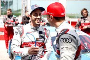 Andrea Dovizioso, Audi Sport Team WRT, Loic Duval, Audi Sport Team Phoenix