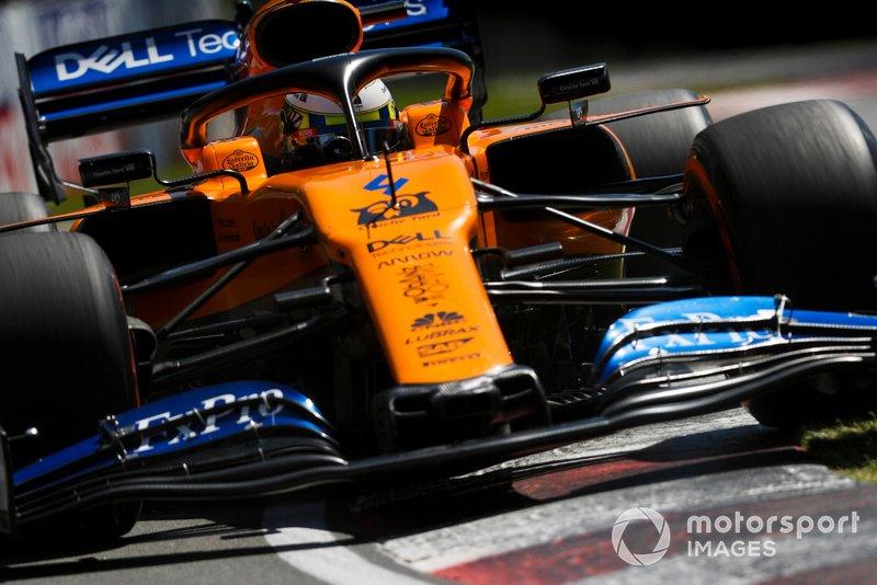 8: Lando Norris, McLaren MCL34, 1'11.863