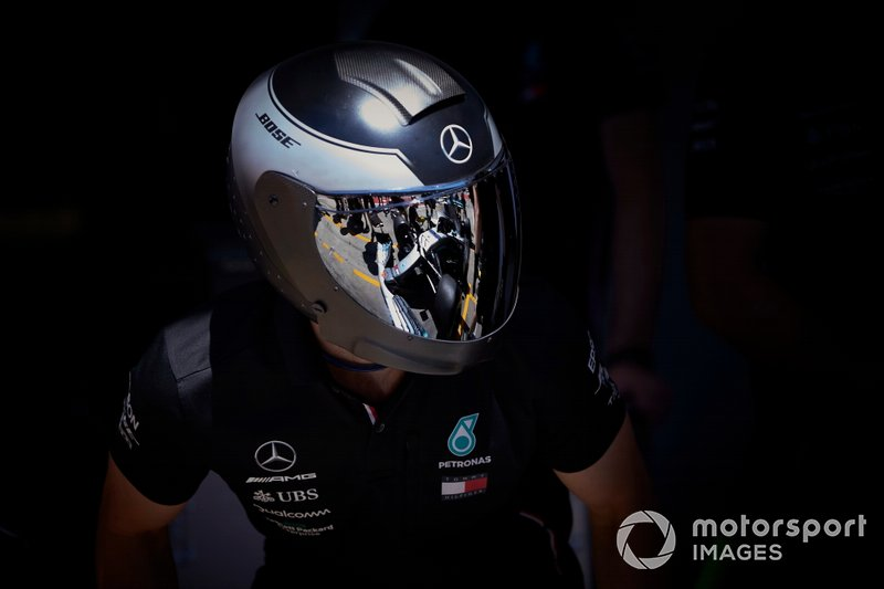 Equipo de boxes de Mercedes