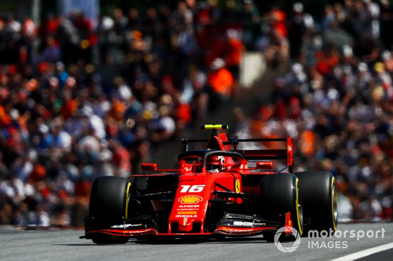 Austrian GP: Charles Leclerc, Ferrari