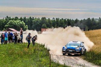 Marcin Słobodzian, Kamil Kozdroń, Ford Fiesta R5, FIA ERC, Rally Poland
