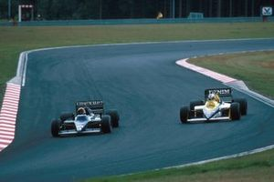 Stefan Bellof, Tyrrell, Nigel Mansell, Williams FW10