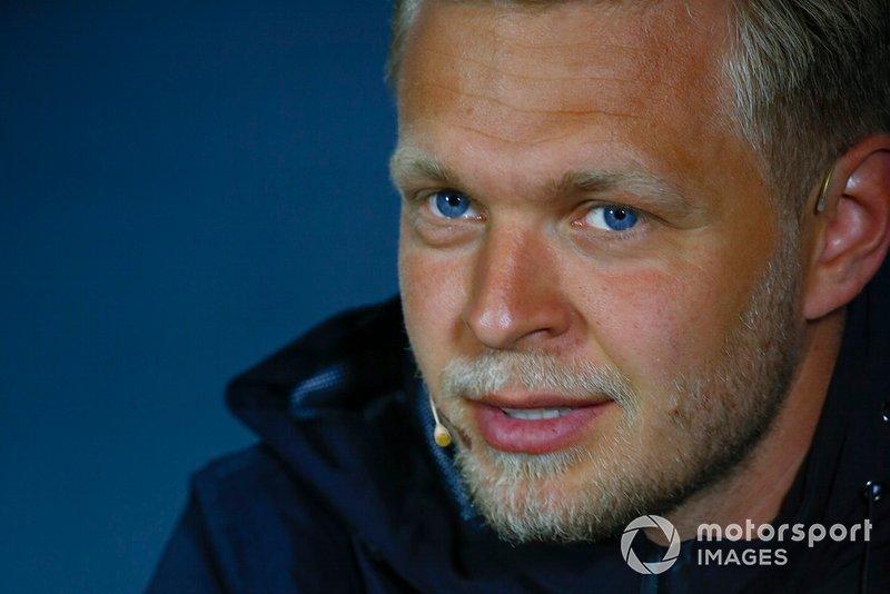 Kevin Magnussen, Haas F1 en la conferencia