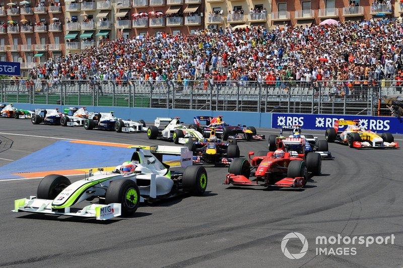 2009 Rubens Barrichello, Brawn GP (Valencia)