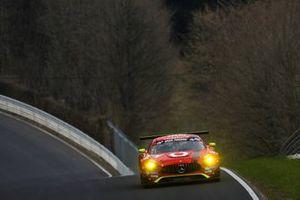 #2 GetSpeed Performance Mercedes-AMG GT3: Philip Ellis, Fabian Vettel, Jan Seyffarth, Christopher Brück