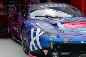 Автомобиль Ferrari 488 GTE (№83) команды Kessel Racing