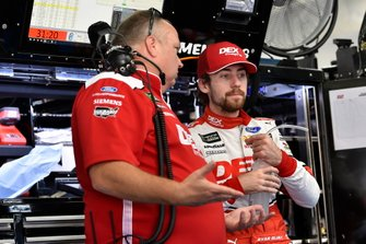 Ryan Blaney, Team Penske, Ford Mustang DEX Imaging and Jeremy Bullins