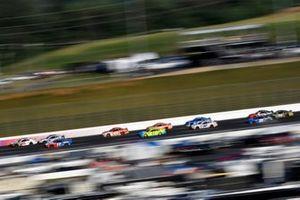 Daniel Hemric, Richard Childress Racing, Chevrolet Camaro Cessna and Ricky Stenhouse Jr., Roush Fenway Racing, Ford Mustang Fastenal