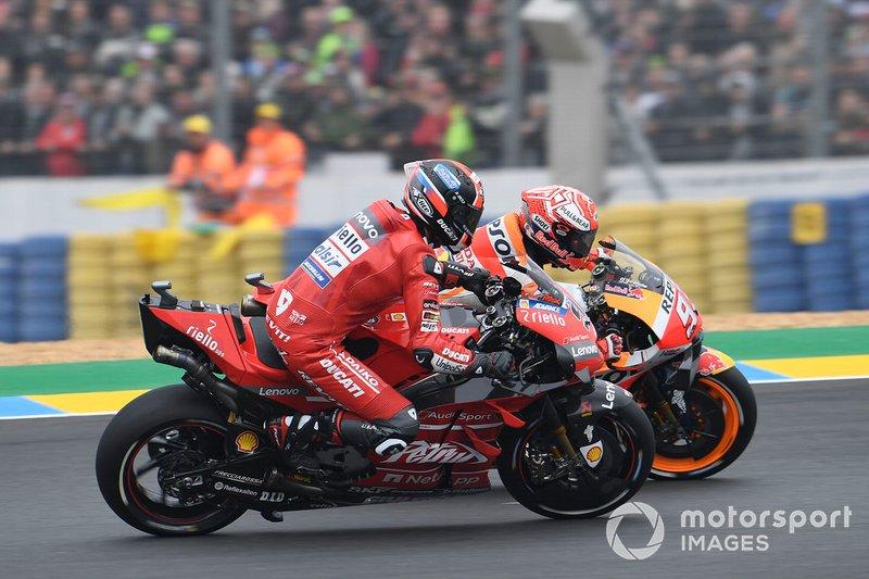 Marc Marquez, Repsol Honda Team, Danilo Petrucci, Ducati Team