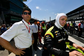 Simon Pagenaud, Team Penske Chevrolet, Tim Cindric