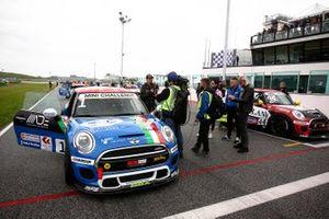 Il poleman Gustavo Sandrucci, Maldarizzi Automotive by Melatini Racing, in griglia di partenza
