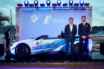 "Unveil of the BMW i8 Roadster Safety Cars at ""Yacht Club de Monaco"