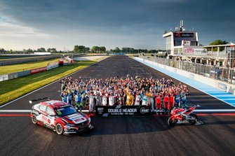 All drivers of WTCR and riders of EWC