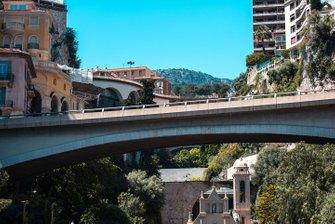 Bridge overlooking the circuit