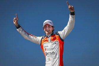 Race 1 winner Lorenzo Colombo, MP motorsport