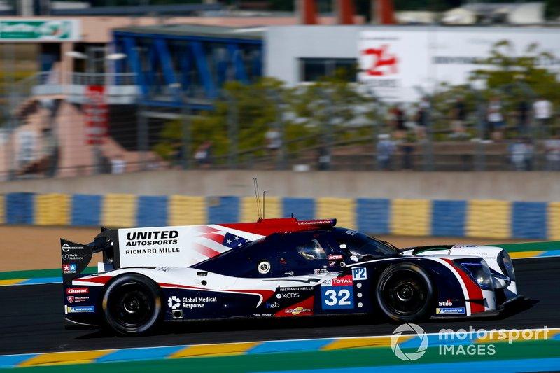 LMP2: #32 United Autosports, Ligier-Gibson JS P217