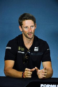 Romain Grosjean, Haas F1 in Press Conference