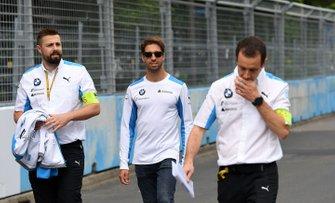 Antonio Felix da Costa, BMW I Andretti Motorsports, cammina sulla pista