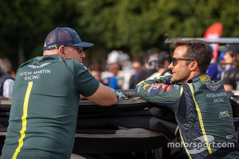 #98 Aston Martin Racing Aston Martin Vantage: Paul Dalla Lana, Pedro Lamy
