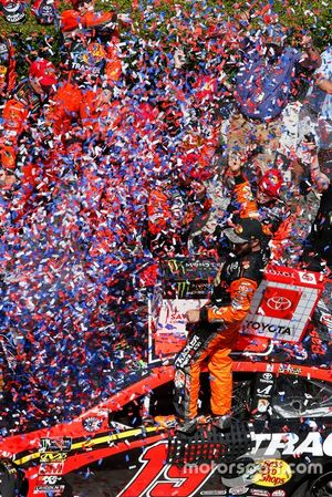 Race Winner Martin Truex Jr., Joe Gibbs Racing, Toyota Camry