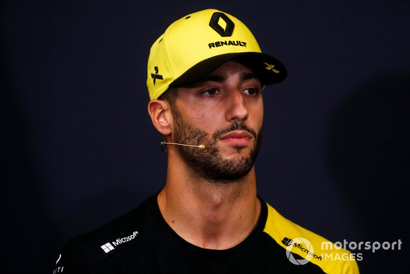 Daniel Ricciardo, Renault F1 Team in Press Conference