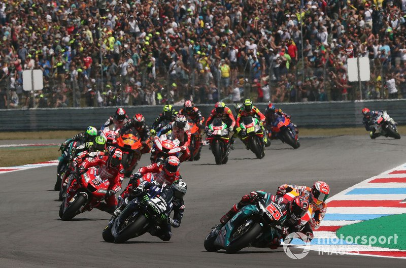 MotoGP y Dorna decidieron cancelar también los grandes premios de Alemania, Holanda y Finlandia para 2020 ante las últimas medidas de los gobiernos locales. Así, el de República Checa (a principios de agosto) quedaba como primera cita de la temporada