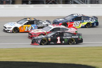 Kurt Busch, Chip Ganassi Racing, Chevrolet Camaro Global Poker Alex Bowman, Hendrick Motorsports, Chevrolet Camaro Axalta Clint Bowyer, Stewart-Haas Racing, Ford Mustang Toco Warranty