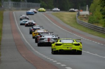 ##70 MR Racing Ferrari 488 GTE: Motoaki Ishikawa, Olivier Beretta, Eddie Cheever