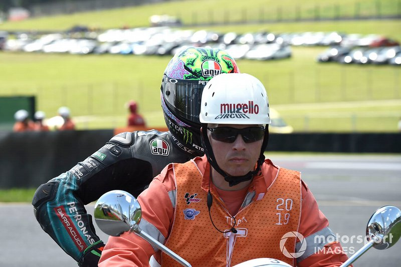 Franco Morbidelli, Petronas Yamaha SRT - 8 caídas