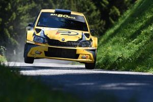 Pascal Perroud, Romain Blondeau, Skoda Fabia R5, Lugano Racing Team_