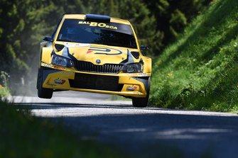 Pascal Perroud, Romain Blondeau, Skoda Fabia R5, Lugano Racing Team_