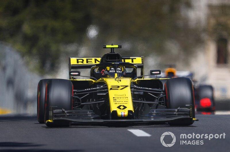 Hülkenberg en Renault oneens over inhaalmanoeuvre
