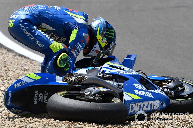 Joan Mir, Team Suzuki MotoGP - 12 caídas
