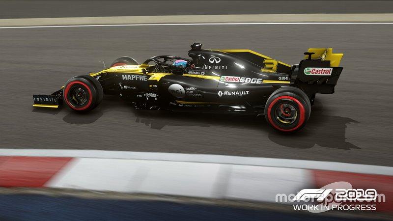 Renault de Daniel Ricciardo