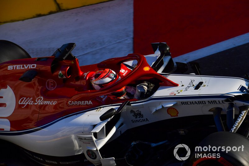 18: Kimi Raikkonen, Alfa Romeo Racing C38, 1'43.068 - DQ-ed from qualifying