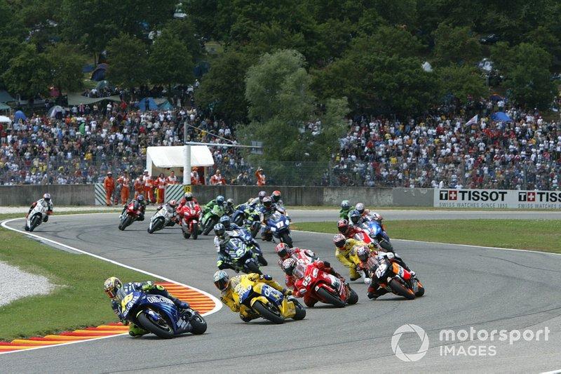 Valentino Rossi, Yamaha Factory Team, al comando