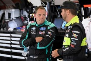 Johnny Sauter, ThorSport Racing, Ford F-150, Matt Crafton, ThorSport Racing, Ford F-150 Chi-Chi's/Menards