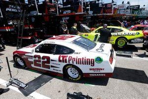 Paul Menard, Team Penske, Ford Mustang Menards/Richmond Austin Cindric, Team Penske, Ford Mustang LTi Printing