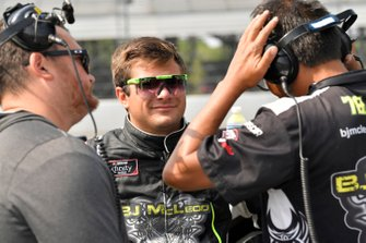 Vinnie Miller, B.J. McLeod Motorsports, Chevrolet Camaro Koolbox / JW Transport, LLC