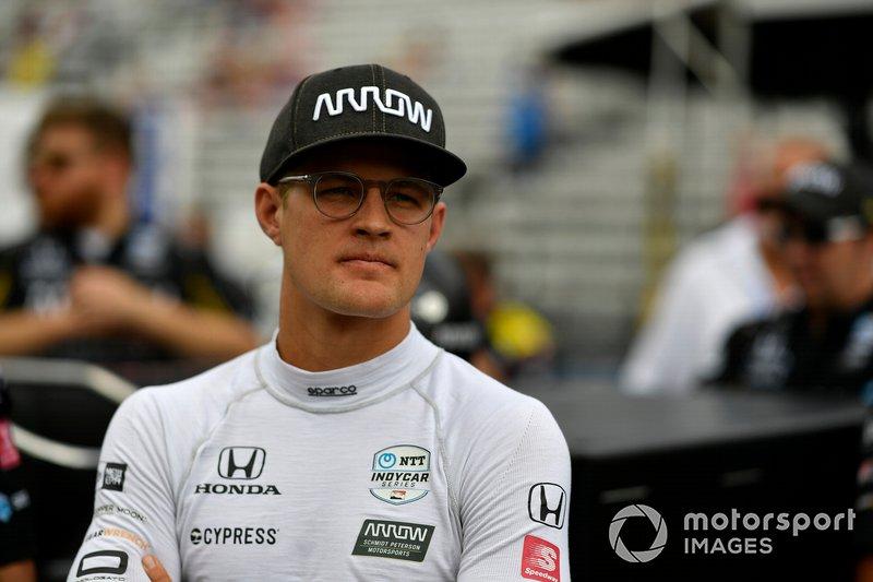 Marcus Ericsson, Arrow Schmidt Peterson Motorsports Honda during pit stop competition